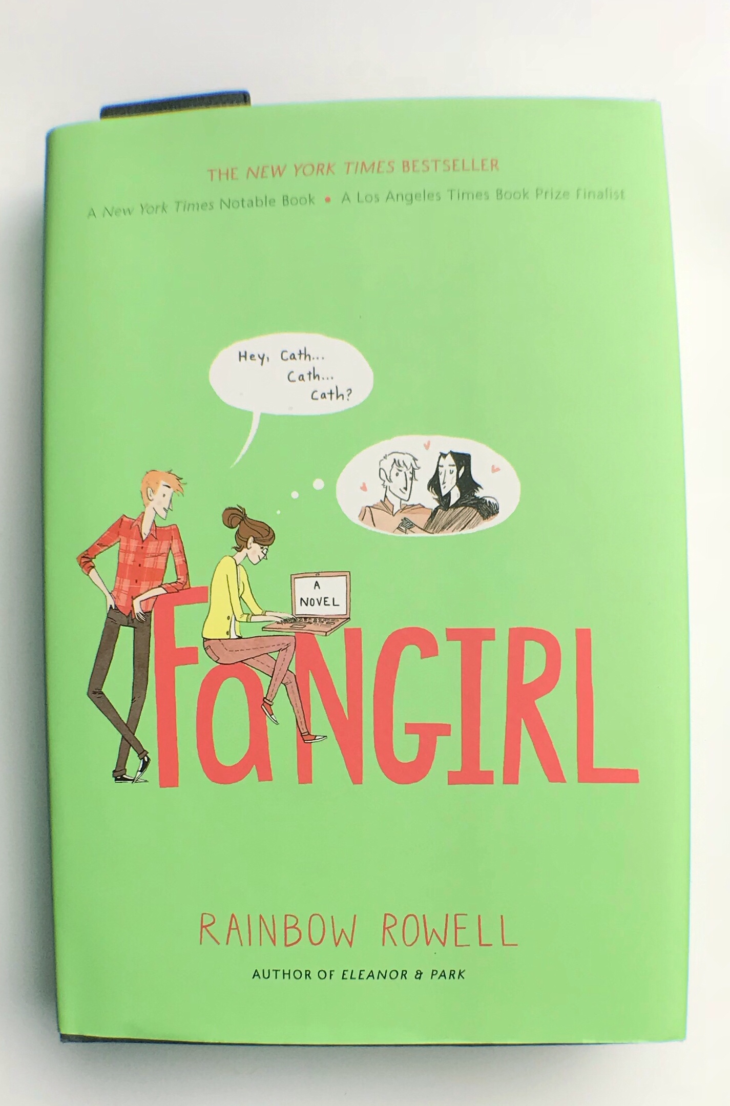 Fangirl by Rainbow Rowell~Book Review