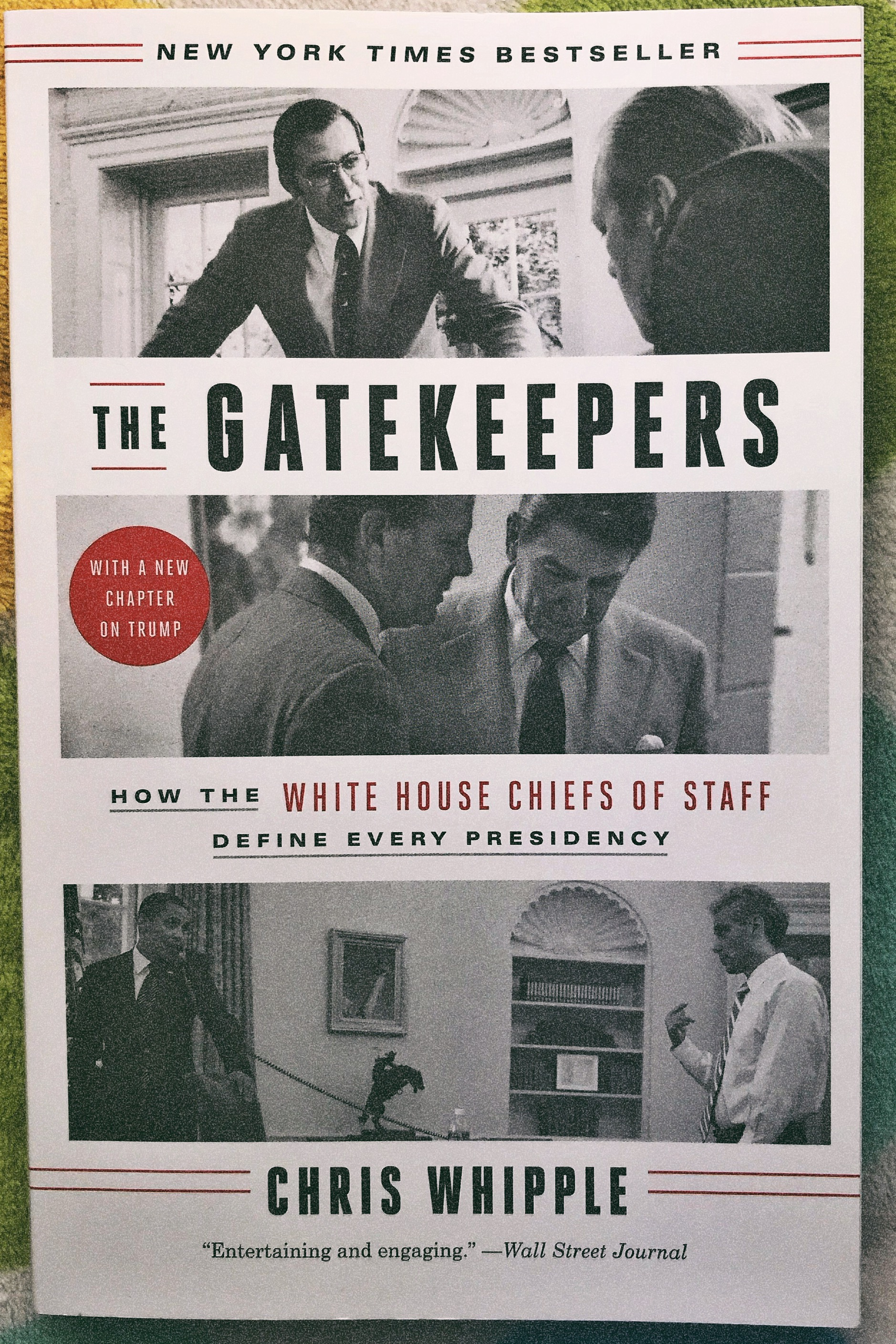 The Gatekeepers by Chris Whipple ~Blogging For Books Review