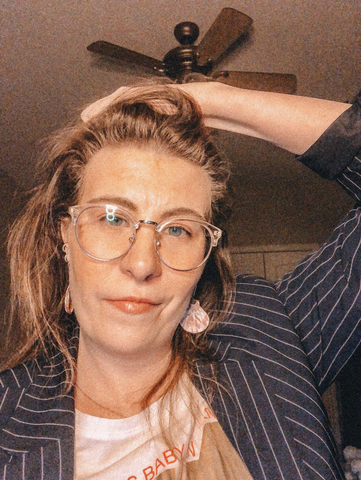 Selfie of a woman
