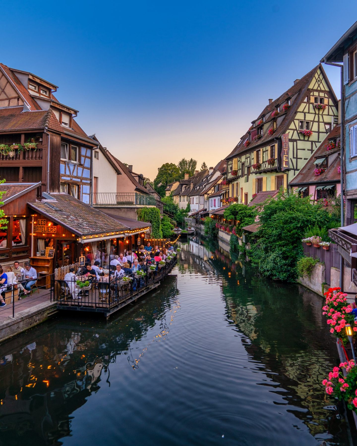 French countryside town